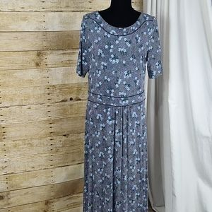 Boden Ava Jersey Midi Floral Dress